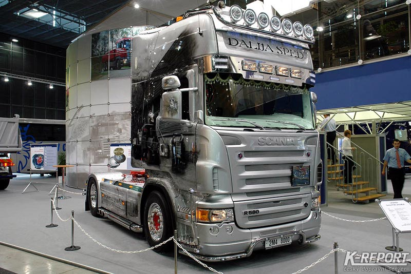 One Of These  Scania R620 Topline  Higher Cab   Far Better Looking