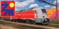 Prvn� lokomotiva �ady 102 DB m��� do Velimi