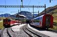 Sedlo Oberalppass aGlacier Express