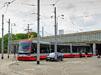 Stá tramvaj ForCity vpražských ulicích